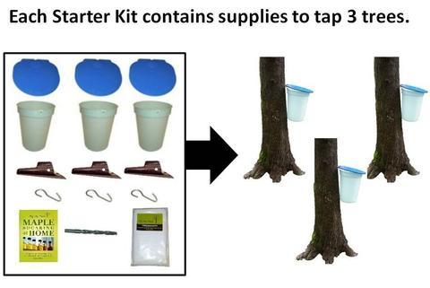 Starter Kit with Plastic Buckets
